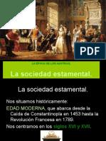 4 La Sociedad Estamental
