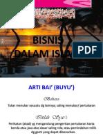 Bisnis Dalam Islam 1
