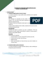 Especificaciones Tecnicas para conexiones de agua potable urbana.pdf