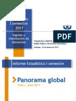 Cifras Primer Semestre 2017