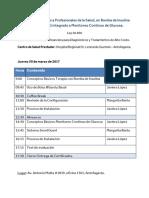 Programa Educativo Capacitación LRS, Antofagasta (30 Marzo 2017)