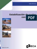 Estabilización de Suelos Con Cemento Febrero 2015