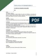 Apostila Intermediário I - Estrelas Fixas - Características