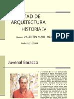 Juvenal Baracco Presentacion