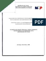 Análisis de Criterios Hidroambientales en El Manejo de Recursos Hídricos – Pauta Para La Determinación de Caudales Ecológicos 1998