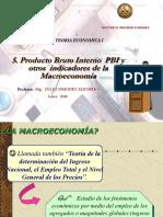 5. Producto Bruto Interno PBI y Macroeconomia