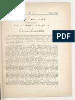 Henri Claude - Les Psychoses Paranoides