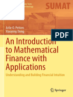 Arlie O. Petters, Xiaoying Dong-An Introduction to Mathematical Finance With Applications_ Understanding and Building Financial Intuition-S