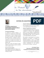 Boletín 2 Profesores de la Araucanía
