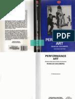 Roselee Goldberg-Performance Art (Spanish Edition)-Destino Ediciones (1997)