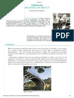 Patrimonio Inustrial en México