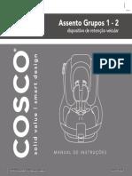 Manual CV 3000 II Cosco Dorel
