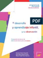 Desarrollo y Aprendizaje Infantil y Su Observacion Pastor Nashiki y Perez
