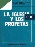 SICRE, José Luis, La Iglesia y Los Profetas