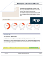 Skill Based Career Report6