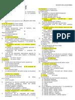 Anatomia - II Parcial - 1-5 Correlativos