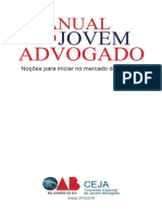 Manual Do Jovem Advogado - Noções Para Iniciar No Mercado de Trabalho - CEJA OAB-RS
