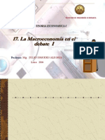 17. La Macroeconomia en El Debate I