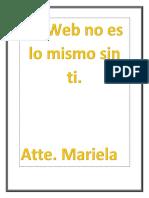La Web No Es Lo Mismo Sin Ti