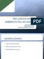 Influencia Del Ambiente en Las IAAS2017