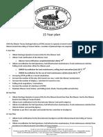 OTHR 15 Year Plan