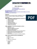 Catálogo de Cursos Tecniwesca