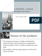 2. TCD Human Reliability Analysis