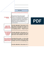 Individual Assignment Marking Rubric