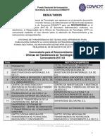 Publicación de Resultados 2017-03