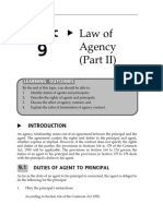 Topic 9 Law of Agency (Part II)
