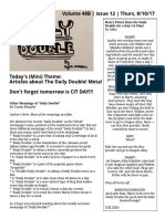 Daily Double, Volume 48B, Issue 12