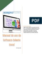 Manual de Uso Software Adapto Gestión Hotelera