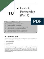 Topic 10 Law of Partnership (Part I).pdf