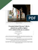 06.08.17 Presenta Rafael Moreno Valle la plataforma política digital