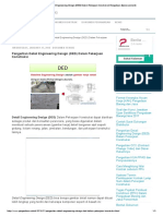 Pengertian Detail Engineering Design (DED) Dalam Pekerjaan Konstruksi _ Pengadaan (Eprocurement)