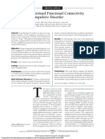 Altered Corticostriatal Funcional Connectivity in OCD (Harrison, 2009)
