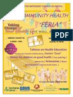 Comm.healthFeria2017.Flyer