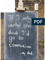 Communion Sign