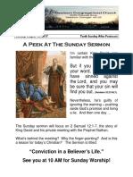 Rev. Bill Kren's Newsletter - August 13, 2017