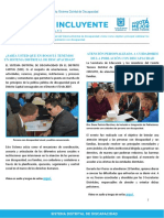 Boletín Informativo SDD N°1 marzo 2017