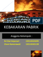 PPT Kebakaran Pabrik