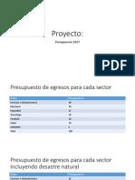 Proyecto Estructura y Desarollo