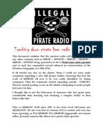 Tracking Down Pirate Ham Radio Operators