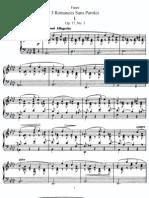 Gabriel Faure - Op.17 - 3 Romances Sans Paroles