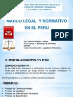 CAP 1- MARCO LEGAL Y NORMATIVO EN PERU_2014.ppt