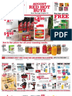 Seright's Ace Hardware August 2017 Red Hot Buys