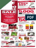 Seright's Ace Hardware 5,000 Store Celebration Sale