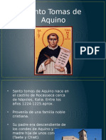 Exposicion Santo Tomas de Aquino