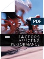 Factors Affecting Performance-pdhpe in Focus