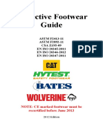 Protective Footwear Guide ASTM2314 11